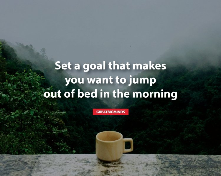 become an early riser