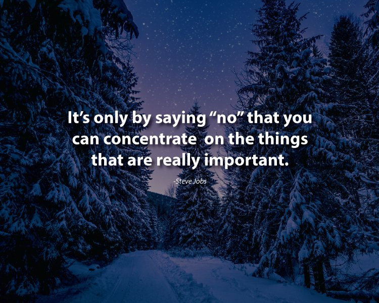 things to say no