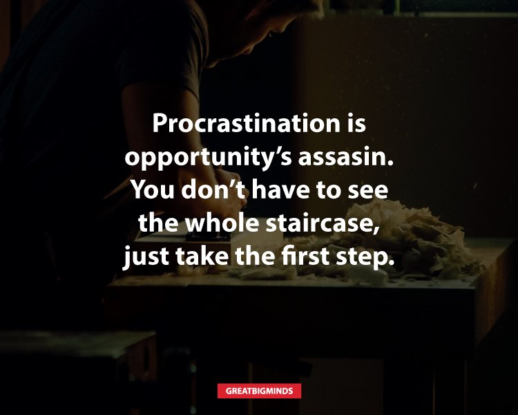 7 Steps To Help You Beat Procrastination