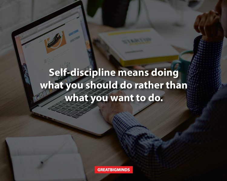 8 Ways To Build Self-Discipline And Go After Your Dreams