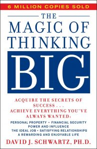 5 Must Read Books On How To Improve Confidence and Start Taking Action Today The Magic of Thinking Big
