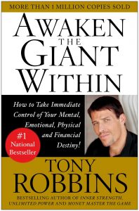 5 Must Read Books On How To Improve Confidence and Start Taking Action Today - Awaken the giant within tony robbins