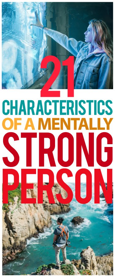 characteristics of a mentally strong person