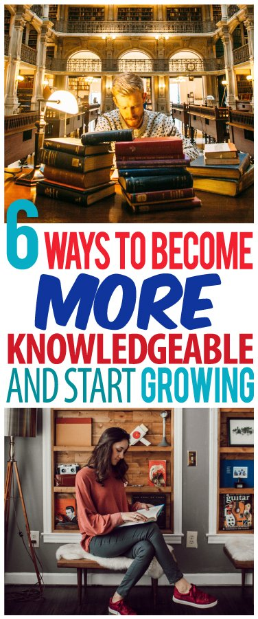 how to be knowledgeable